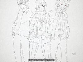 Soul, Maka and Death the Kid by Sins-of-blood