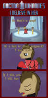 Doctor Whooves Comic - I Believe in Her by Crisostomo-Ibarra