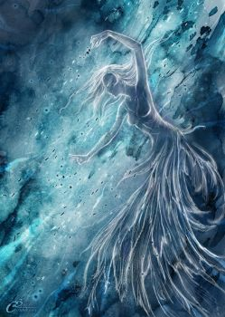 The blue Lady - Magic (wrath) by Agalanthe
