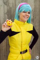 Dragon ball kinda girl by kolibri-chan