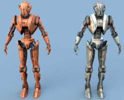 HK-47 and HK-51 Render by avenger09