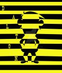 black_yellow_stripes_DALTON by Mirinata