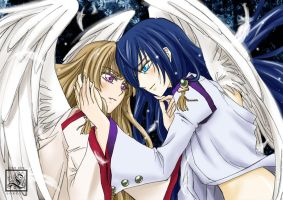 Angels Chikane and Himeko by LORELEI-LilyPrincess
