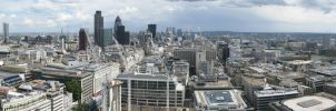 Panorama from St Paul's by do7slash
