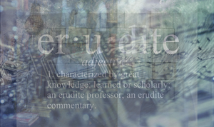 Erudite Edited by simply-unidentified