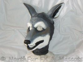 Spandex Wolf Mask by sjgarg