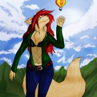 Fly High With Me by nashika