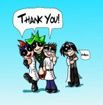 Nonlinear Thank you by Starchasm