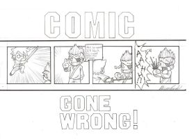 comic gone wrong by devpose