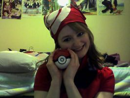 Posing with the Pokeball by Meika02