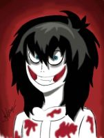 Jeff The Killer by creepyodd