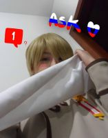 Ask Russia -Cosplay- APH by SunflowerDragon