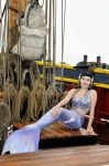 Mermaid on the Jolly Roger from Once Upon A Time by EarthFairy
