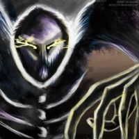 Ghastly Figure Speed Paint by Echo1034