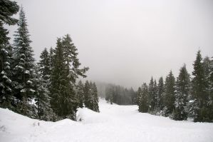 Snowy Mountains by xDNarnian