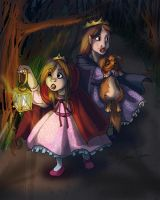 Little Lost Princesses by Bilious
