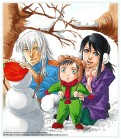 This is a snowman by Kirihara-Kiriya31