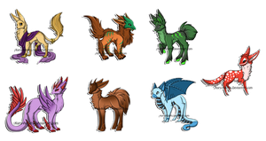 Creature Adopts: CLOSED by Kuro-Creations