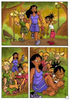 footing in the park page 01 by JinksLizard