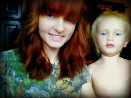 Just me and my son. by AmberLynn26