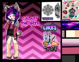 Galaxy The Deer NEW FC reference by LittleChewrrie