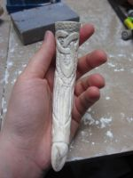 Bone handle WIP 3 by IkaikaDesign