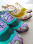 Ice Cream Brogues by ponychops