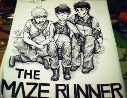 The Maze Runner by Hota98