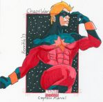 CW - Captain Marvel by KerrithJohnson