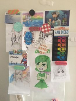 My Summer Doodle Board... by kimiism