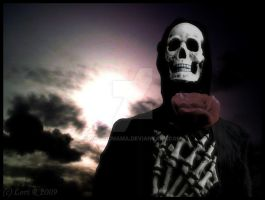 Grim reaper in love by Gothicmama