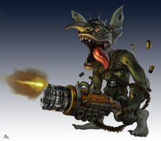 Goblin Gatling by Davesrightmind
