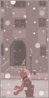 good old snowing dayz by gribouille