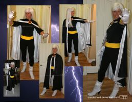 Xmen Evolution Storm cosplay by CaroRichard