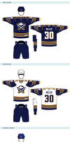 Buffalo Sabres Uniforms by matthiason