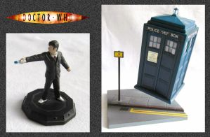 Micro Universe Tardis by mikedaws