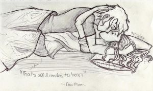 Bella and Edward by crazy-artist34