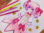Kaname Madoka by paperscarecrow