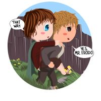 Frodo 'n Sam by Cooky-2012