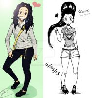 Regine 2012 and 2013 by silrance