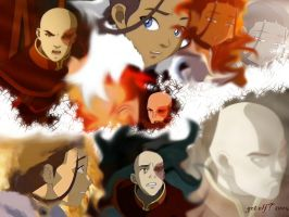 Katara and Zuko: Ice and Angst by gotelf