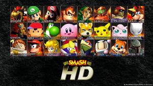 Super Smash Bros. 64 HD REMAKE by MachRiderZ