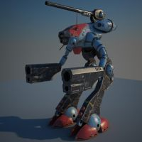 Zentradi Glaug by 3D-Brainx