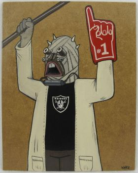 Tusken Raider Raider's Fan by jokneeappleseed