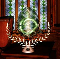 Slytherin Russian Easter Egg by deslea