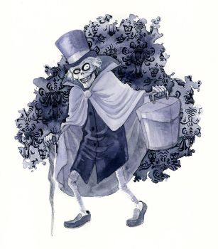 The Hatbox Ghost by reneenault