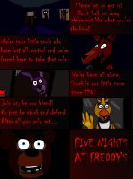 Five Nights at Freddy's by weasel-girl