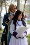 Axis Powers Hetalia |Nyotalia  - Yorokonde 2013 by Dallexis-Jack