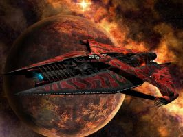 narn cruiser by bluemars76