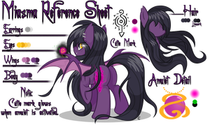 Miasma Reference Sheet by equinepalette